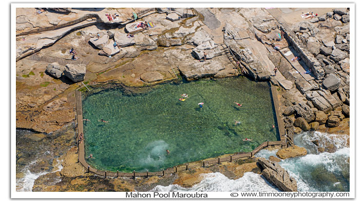 Beautiful ocean swimming pools sydney like Mahon Pool Maroubra are a natural joy to experience