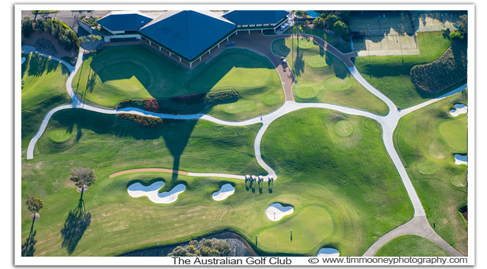 Aerial Photo Sydney Golf Clubs
